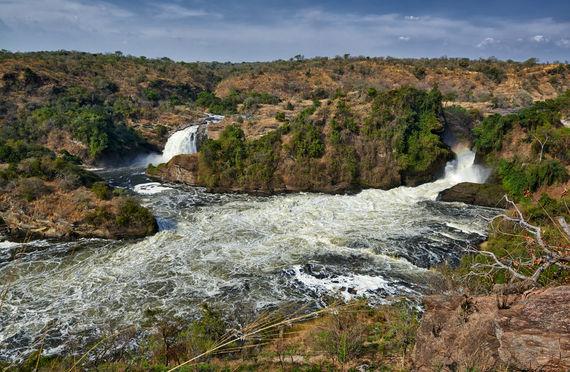 Murchison-Falls, Murchison-Falls-Nationalpark, Uganda, Afrika |Murchison Falls, Murchison Falls National Park, Uganda, Africa|